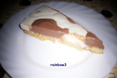 Backen: Frischkäse-Kuhflecken-Torte - Rezept