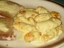 Fleisch/Geflügel – Hähnchenbrust in Chili-Currysahne - Rezept