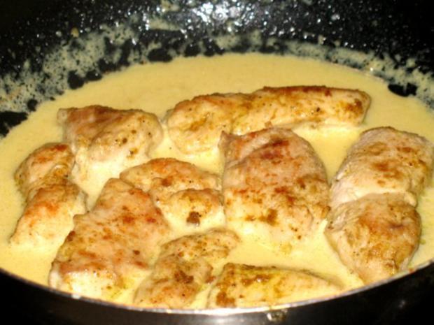 Fleisch/Geflügel – Hähnchenbrust in Chili-Currysahne - Rezept - Bild Nr. 4