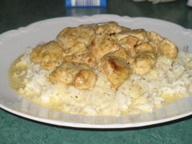 Fleisch/Geflügel – Hähnchenbrust in Chili-Currysahne - Rezept - Bild Nr. 5