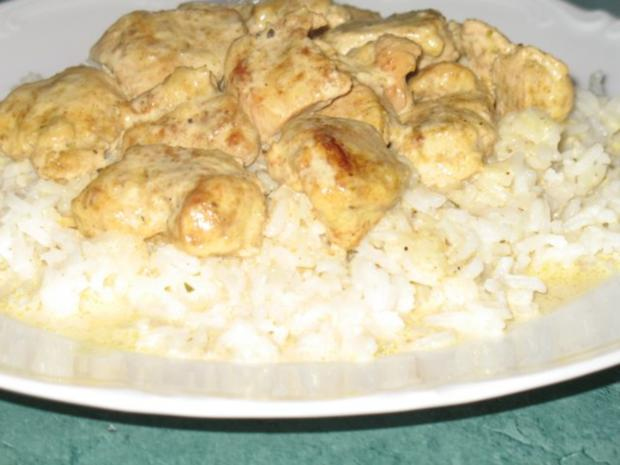 Fleisch/Geflügel – Hähnchenbrust in Chili-Currysahne - Rezept - Bild Nr. 6
