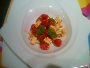 Scharfes Salätchen natürlich mit Bildern - Rezept
