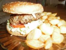 "Burger ""Hot and Spicy"" - Rezept"