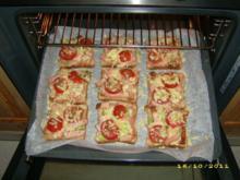 Überbackener Leberkäse-Toast - Rezept