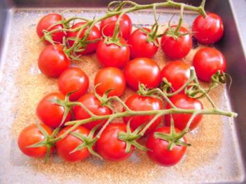 Geschmolzene Tomaten - Rezept