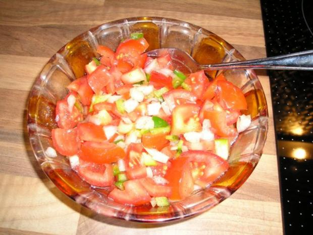 Tomatensalat mit Paprika - Rezept - Bild Nr. 2
