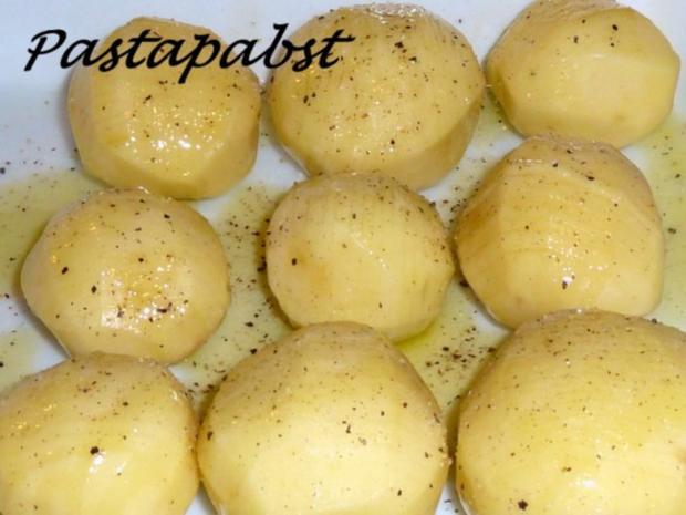 Filet mit Fächerkartoffeln und Balsamico-Möhren-Spaghetti - Rezept - Bild Nr. 3