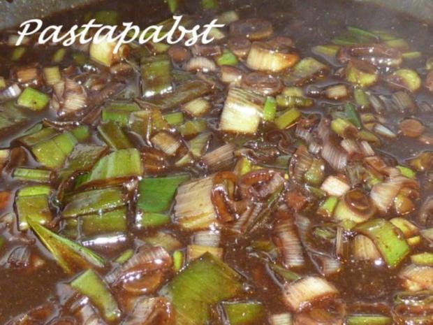 Filet mit Fächerkartoffeln und Balsamico-Möhren-Spaghetti - Rezept - Bild Nr. 6