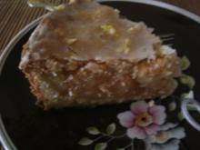 Gedeckter Apfelkuchen mit Amaranth - Rezept