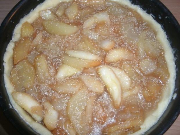 Gedeckter Apfelkuchen mit Amaranth - Rezept - Bild Nr. 5