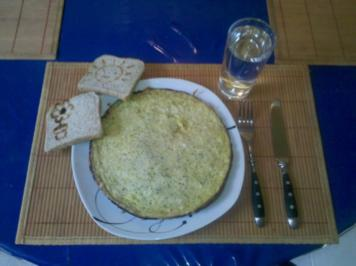 Eier: Wasabi-Omelett - Rezept