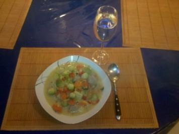 Eintopf: Herbsteintopf mit Mettklößchen - Rezept