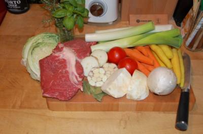 POT - AU - FEU   A   L'ANCIENNE  /   SUPPENFLEISCH  NACH ALTER ART - Rezept
