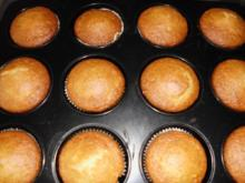Bananenmuffins mit Kokos - Rezept
