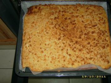 Buttermilch-Bienenstich - Rezept