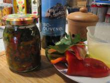Eingelegter Paprika - Rezept
