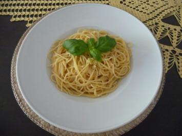 Pasta : Spaghetti aglio e olio - Rezept
