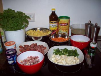 Herzhafter Kartoffeleintopf - Rezept