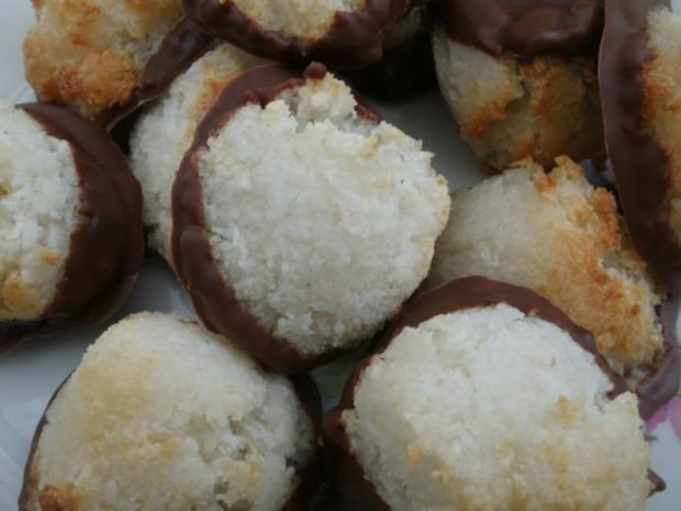 Kokosmakronen vegan - Rezept - Bild Nr. 5