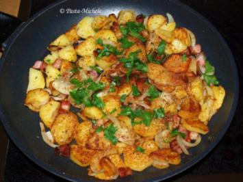 Rheinische Bratkartoffeln  (Brodäpel) - Rezept