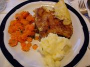Kotelett mit Möhrenblüten und Kartoffelbrei - Rezept - Bild Nr. 20
