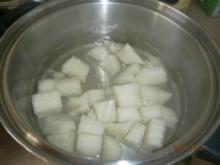 Kichererbsen Eintopf mit Futterrüben und Rindfleisch - Rezept