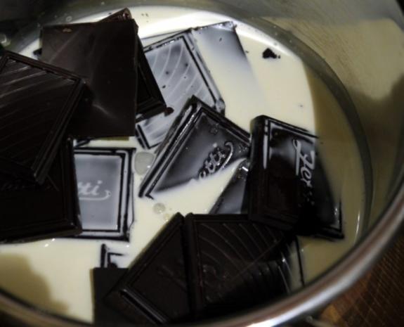 Kürbiskuchen mit Schokoladen-Guss - Rezept - Bild Nr. 6