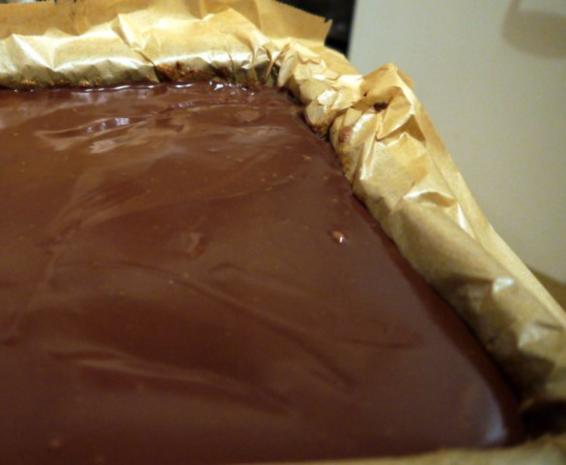 Kürbiskuchen mit Schokoladen-Guss - Rezept - Bild Nr. 7