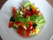 Salat : Gemischten  Hirtensalat - Rezept