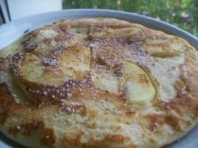Apfel Pfannekuchen - Rezept