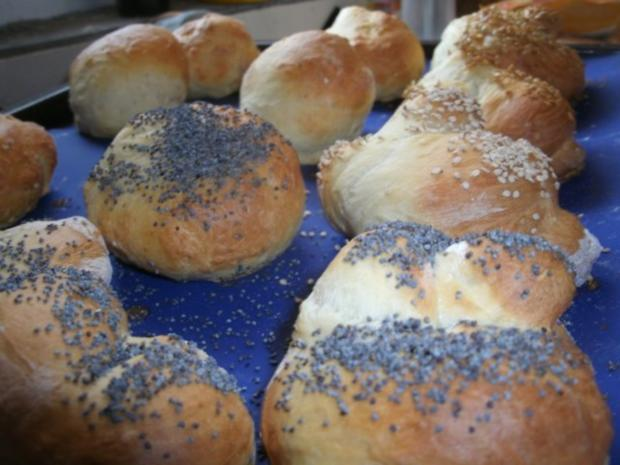 Quarkbrötchen zum Sonntagmorgen -Frühstück - Rezept - Bild Nr. 5