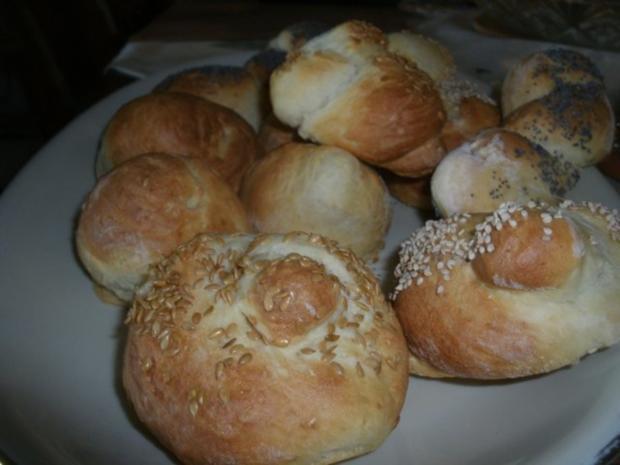 Quarkbrötchen zum Sonntagmorgen -Frühstück - Rezept - Bild Nr. 6
