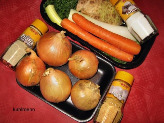 Rindfleisch/Zwiebel-Suppe - Rezept - Bild Nr. 4