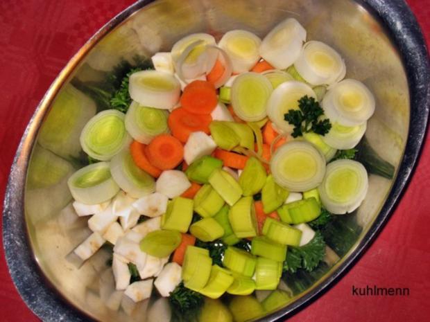 Rindfleisch/Zwiebel-Suppe - Rezept - Bild Nr. 5