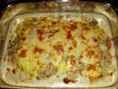 Zwiebel-Sahne Schnitzel - Rezept