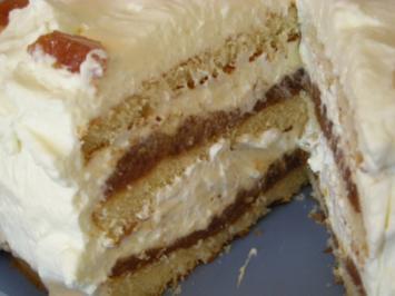 Quittenbrot Torte - Rezept