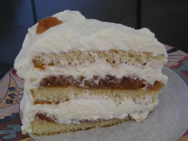 Quittenbrot Torte - Rezept - Bild Nr. 3