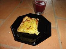Blätterteig-Zwiebelkuchen mit Speck - Rezept