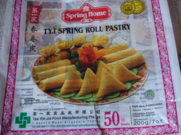 Chinesische Frühlingsrolle - Rezept - Bild Nr. 3