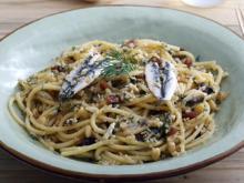 Pasta mit Sardinen, das sizilianische Nationalgericht - Rezept - Bild Nr. 2