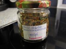 Gewürze: Mediterrane Kräuter-Gewürzsalzmischung - Rezept