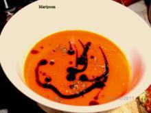 """Cocktailtomaten-Suppe """"Pflaume"""" - Rezept"""