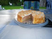 Quark - Marzipan - Schoko - Kuchen - Rezept