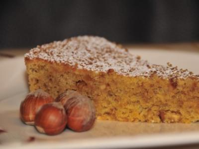 Torta di nocciole / Piemonteser Nusstorte - Rezept