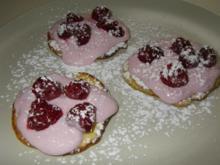 Mini-Pfannkuchen mit Beeren - Rezept