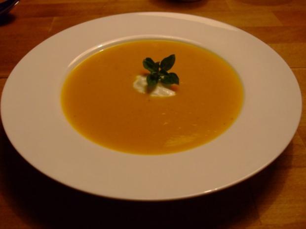 Kürbis Kartoffel Suppe Mit Vanille Ingwer Und Orange Rezept