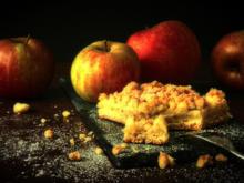 Apfelkuchen mit Streusel vom Blech - Rezept - Bild Nr. 2