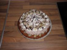 Birnen-Schoko-Torte - Rezept