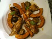 Hähnchenfilet-Herbst-Teller - Rezept