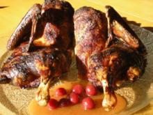 Ente auf Cranberries - Rezept